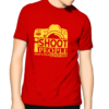 photography tee red